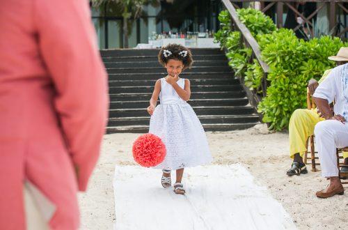 ashley che beach wedding now sapphire riviera cancun 01 10 500x330 - Ashley & Che - Now Sapphire