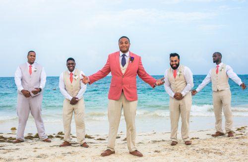 ashley che beach wedding now sapphire riviera cancun 01 17 500x327 - Ashley & Che - Now Sapphire