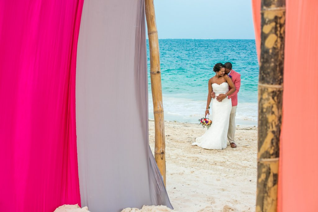 ashley che beach wedding now sapphire riviera cancun 01 19 1024x683 - What You Need To Know If You're Looking For Destination Wedding Photographer And Videographer