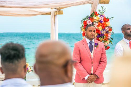 ashley che beach wedding now sapphire riviera cancun 01 8 500x333 - Ashley & Che - Now Sapphire