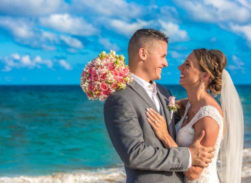 chloe zachary beach wedding Royalton Riviera Cancun 01 11 1 500x365 - Chloe & Zach - Royalton Riviera Cancun