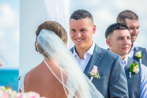 chloe zachary beach wedding Royalton Riviera Cancun 01 5 1 500x333 - Chloe & Zach - Royalton Riviera Cancun