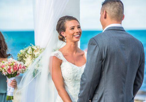 chloe zachary beach wedding Royalton Riviera Cancun 01 6 1 500x350 - Chloe & Zach - Royalton Riviera Cancun