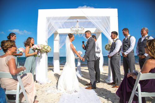 chloe zachary beach wedding Royalton Riviera Cancun 01 7 1 500x333 - Chloe & Zach - Royalton Riviera Cancun