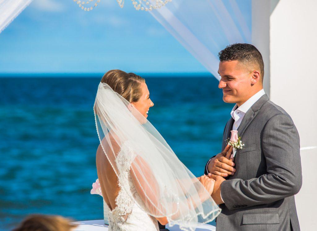 chloe zachary beach wedding Royalton Riviera Cancun 01 9 1 1024x748 - Why Planning A Fall Season Wedding In Cancun Isn't As Difficult As It Sounds (Despite The Hurricane Season)