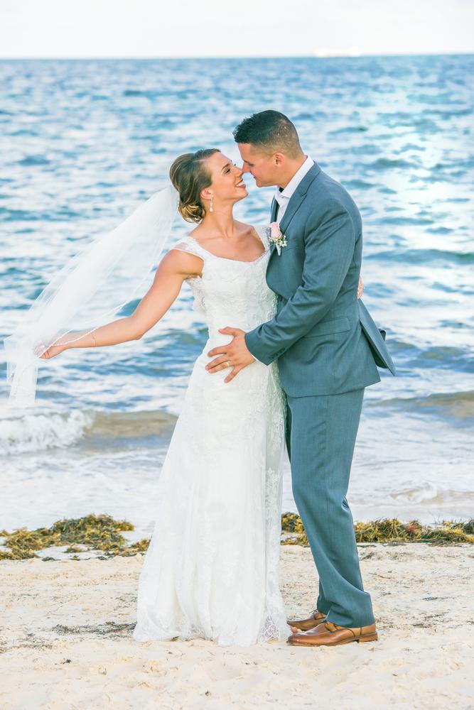chloe zachary beach wedding Royalton Riviera Cancun 02 7 1 - Chloe & Zach - Royalton Riviera Cancun