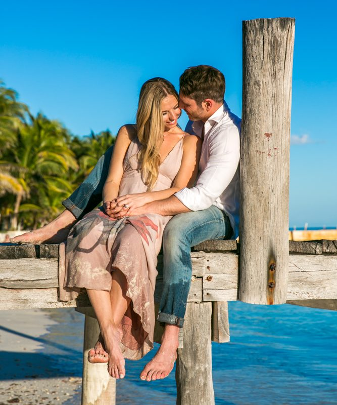 engagement beach photo playa del carmen 04 3 667x800 - Honeymoon Photography