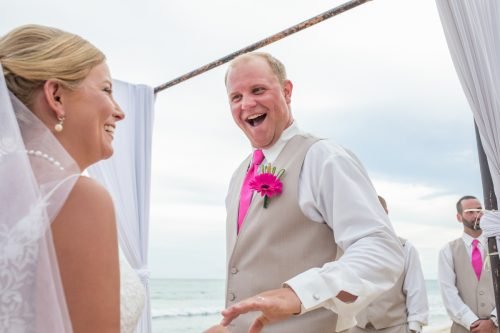 marissa colin beach wedding now jade riviera cancun 01 11 500x333 - Marissa & Colin - Now Jade