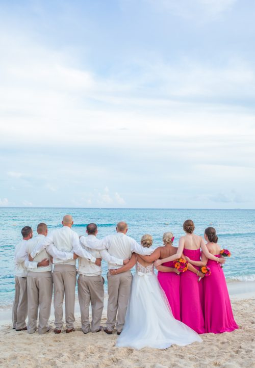 marissa colin beach wedding now jade riviera cancun 02 500x722 - Marissa & Colin - Now Jade