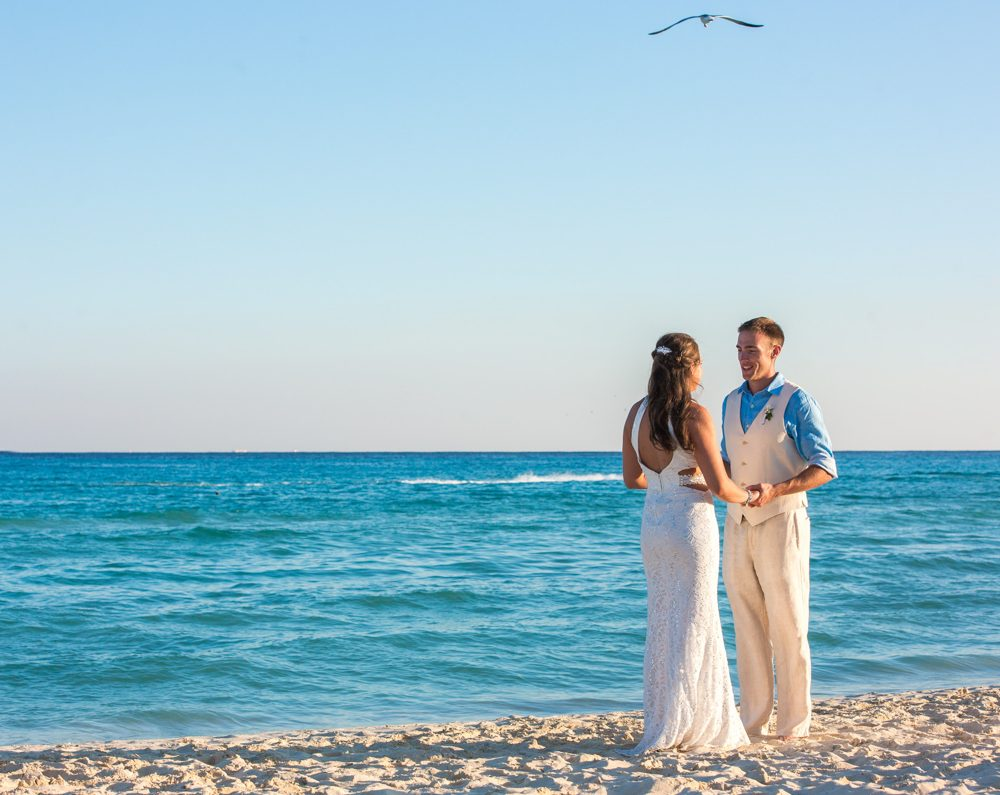 caitlin bart playa del carmen wedding riu palace riviera maya 01 15 1000x795 - Tulum Wedding Photography