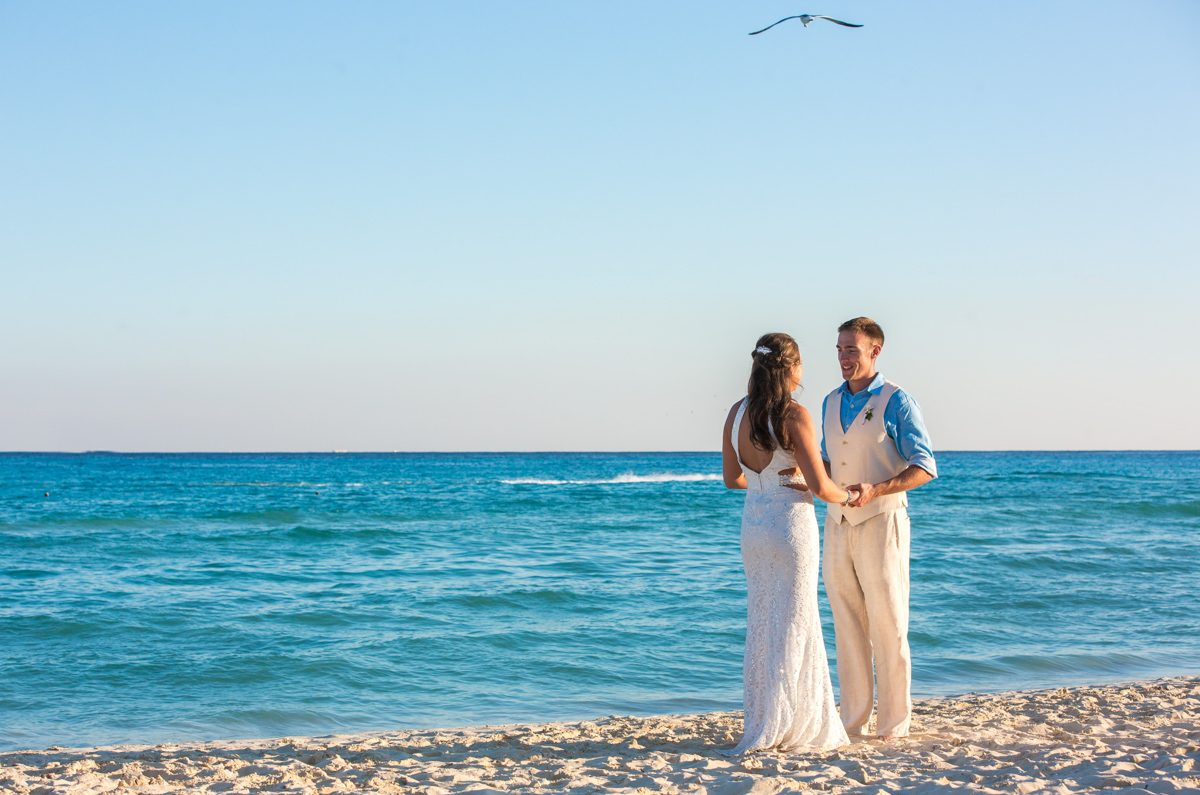 caitlin bart playa del carmen wedding riu palace riviera maya 01 15 1200x795 - Vow Renewals