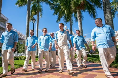 caitlin bart playa del carmen wedding riu palace riviera maya 01 500x333 - Caitlin & Bart - Riu Palace