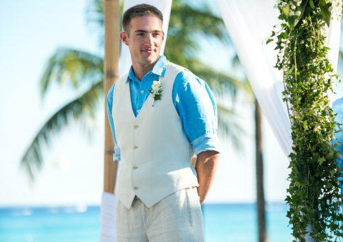caitlin bart playa del carmen wedding riu palace riviera maya 01 7 500x354 - Caitlin & Bart - Riu Palace