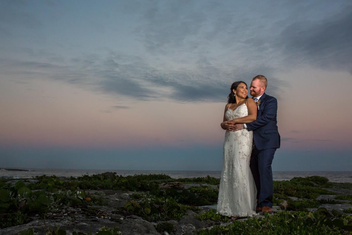 gaby dan beach wedding grand sirenis riviera maya 01 10 - Gaby & Dan - Grand Sirenis