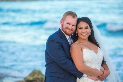 gaby dan beach wedding grand sirenis riviera maya 01 7 500x333 - Gaby & Dan - Grand Sirenis