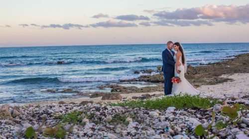gaby dan beach wedding grand sirenis riviera maya 01 8 500x279 - Gaby & Dan - Grand Sirenis
