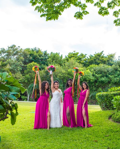 gaby dan beach wedding grand sirenis riviera maya 02 2 500x618 - Gaby & Dan - Grand Sirenis