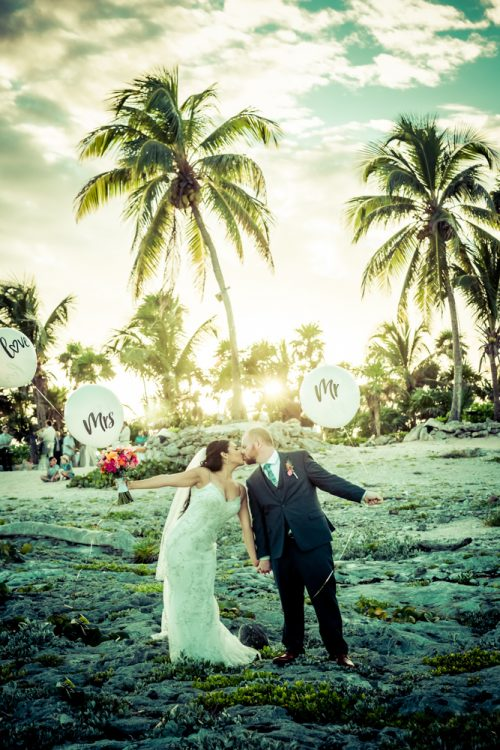 gaby dan beach wedding grand sirenis riviera maya 02 3 500x750 - Gaby & Dan - Grand Sirenis
