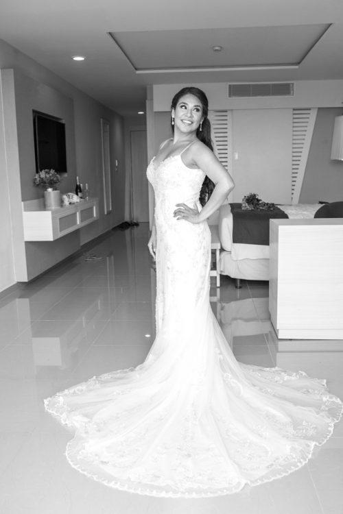 gaby dan beach wedding grand sirenis riviera maya 02 500x750 - Gaby & Dan - Grand Sirenis