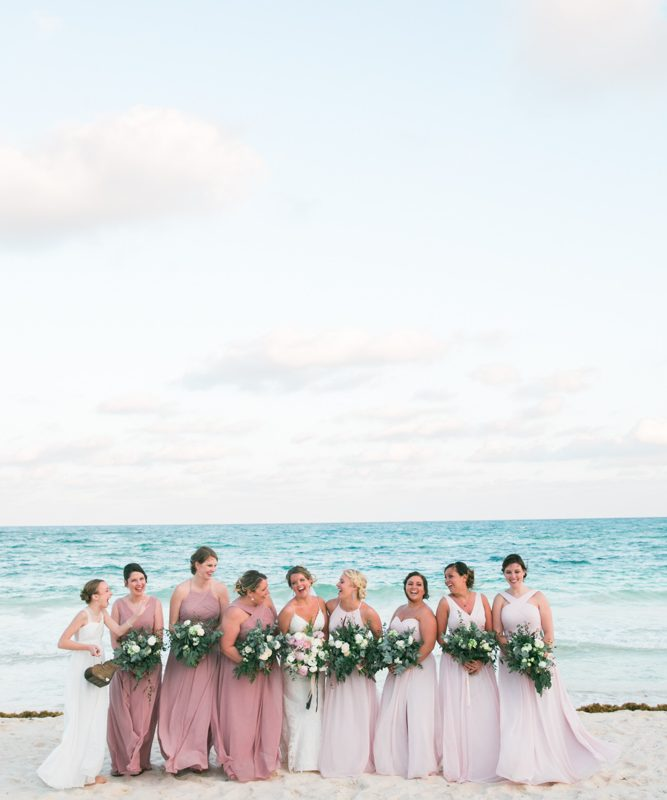 aubrey matt tulum wedding akiin beach club 01 5 667x800 - Cozumel Wedding Photography