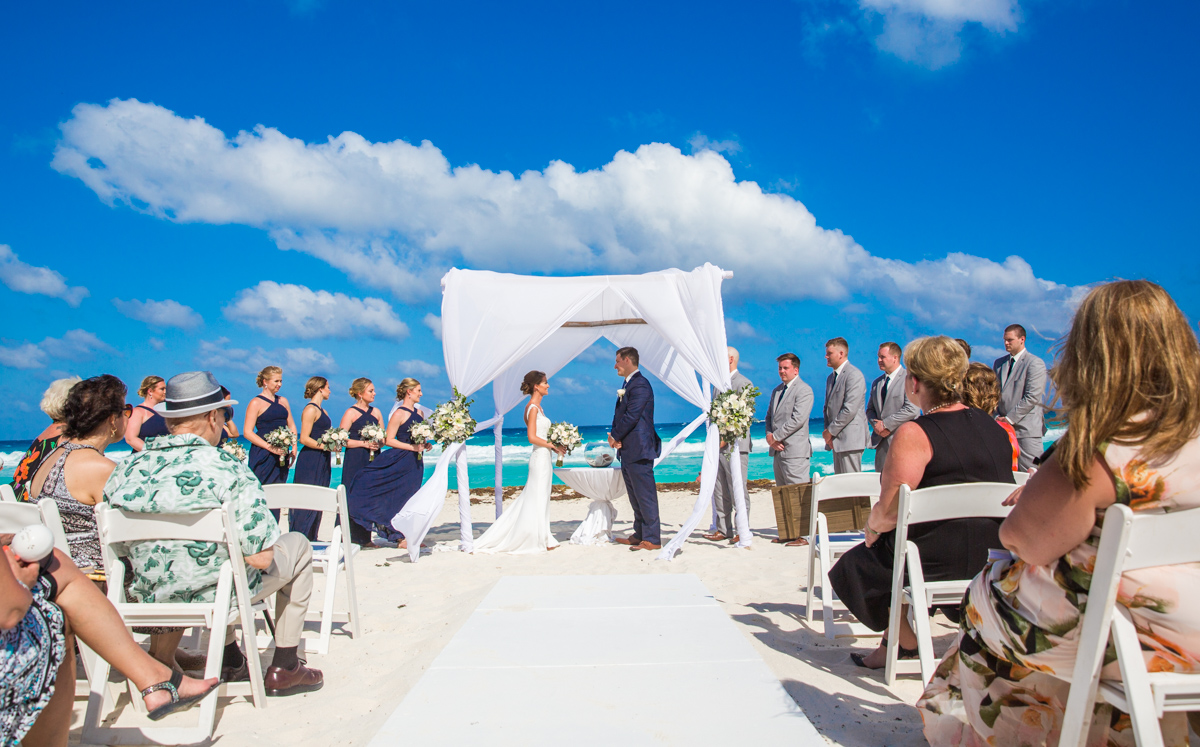 erin james beach wedding fiesta americana condesa cancun 02 18 - Erin & James - Fiesta Americana Condesa Cancun