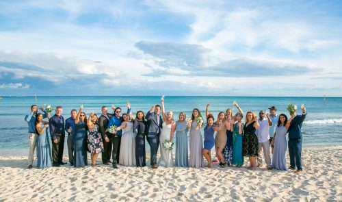 kayla glen beach wedding now jade riviera cancun 01 13 500x295 - Kayla & Glenn Adam - Now Jade