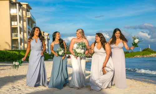 kayla glen beach wedding now jade riviera cancun 01 14 500x303 - Kayla & Glenn Adam - Now Jade