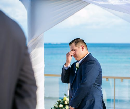 kayla glen beach wedding now jade riviera cancun 01 5 500x420 - Kayla & Glenn Adam - Now Jade