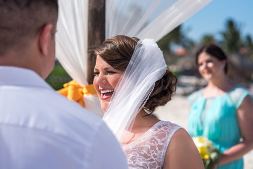 aimee robert beach wedding ocean coral riviera maya 02 10 500x334 - Aimee & Robert - Ocean Coral and Turquesa