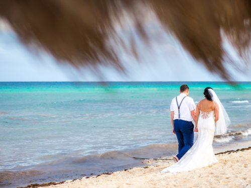 darcelle justin beach wedding ocean riviera paradise playa del carmen 01 3 500x374 - Darcelle & Justin - Ocean Riviera Paradise