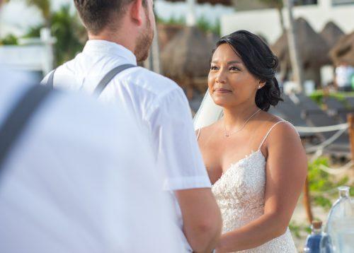 darcelle justin beach wedding ocean riviera paradise playa del carmen 01 6 500x358 - Darcelle & Justin - Ocean Riviera Paradise