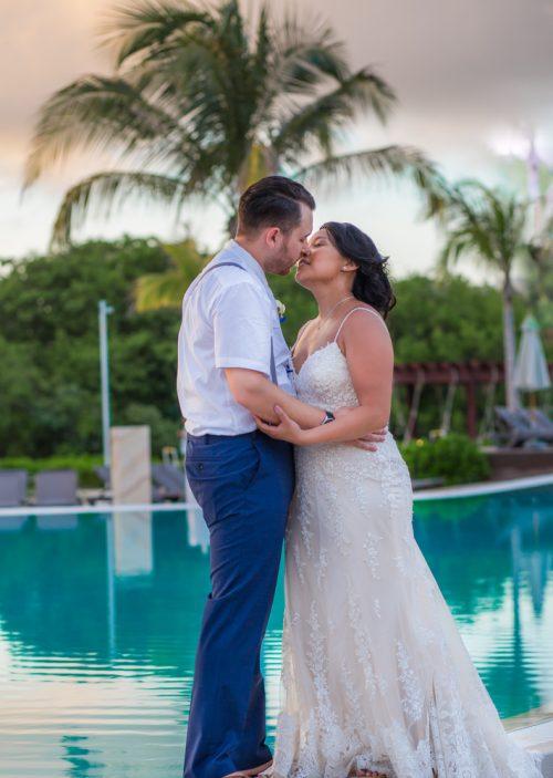 darcelle justin beach wedding ocean riviera paradise playa del carmen 02 3 500x703 - Darcelle & Justin - Ocean Riviera Paradise