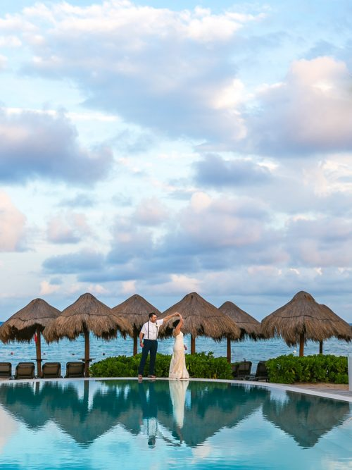 darcelle justin beach wedding ocean riviera paradise playa del carmen 02 5 500x667 - Darcelle & Justin - Ocean Riviera Paradise