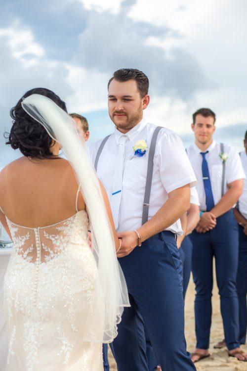 darcelle justin beach wedding ocean riviera paradise playa del carmen 02 6 500x750 - Darcelle & Justin - Ocean Riviera Paradise