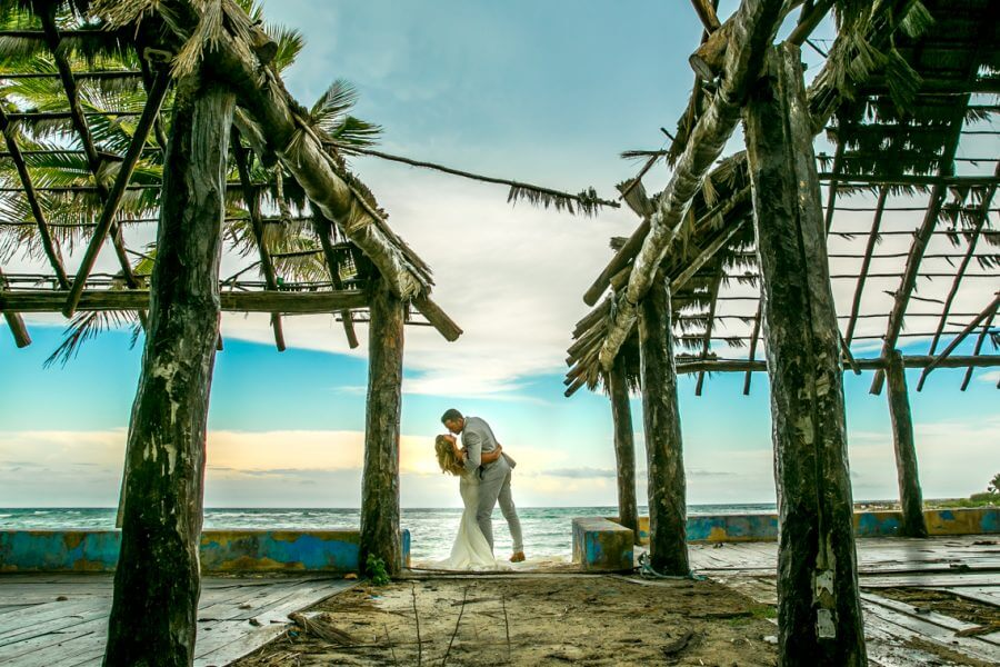 jamie gillis beach wedding xpu ha riviera maya 02 3 900x600 - Playa del Carmen Wedding Photography, Riviera Maya Wedding Photographer