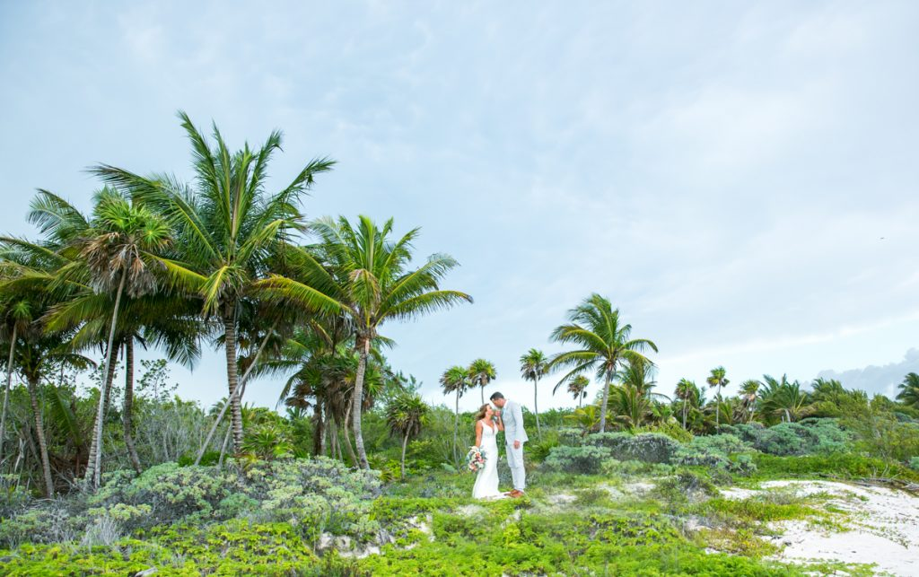 jamie gillis beach wedding xpu ha riviera maya 02 5 1024x643 - 11 Best Beaches In Cancun For Your Honeymoon Photography