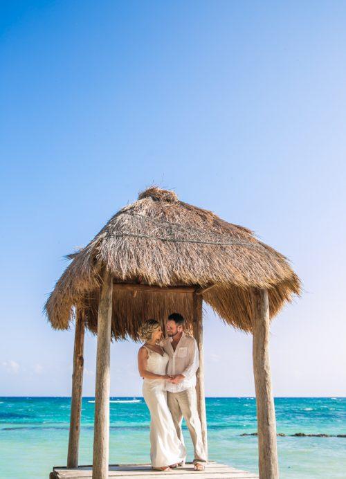 jenny bill riviera maya wedding omni puerto aventuras beach resort 01 2 500x692 - Jenny & Bill - Omni Hotel Puerto Aventuras