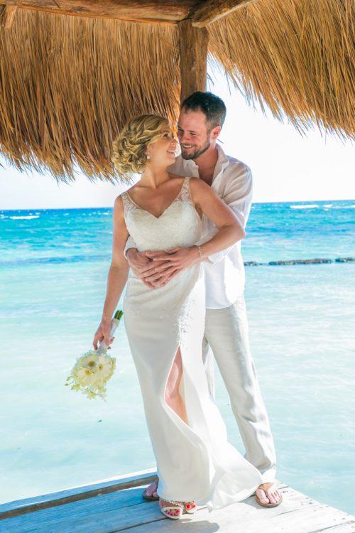 jenny bill riviera maya wedding omni puerto aventuras beach resort 01 500x750 - Jenny & Bill - Omni Hotel Puerto Aventuras