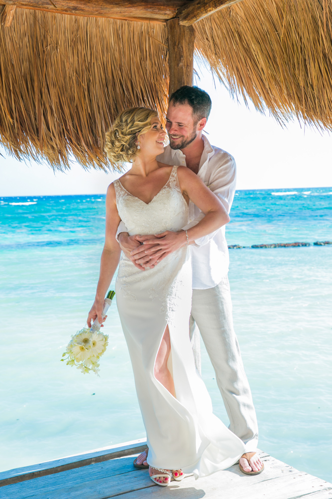 jenny bill riviera maya wedding omni puerto aventuras beach resort 01 - Jenny & Bill - Omni Hotel Puerto Aventuras
