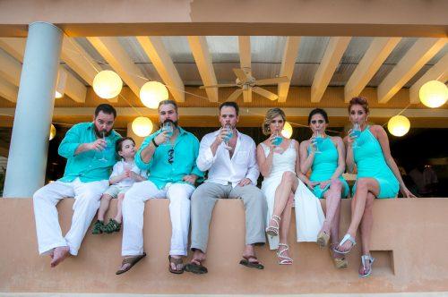 jenny bill riviera maya wedding omni puerto aventuras beach resort 02 10 500x332 - Jenny & Bill - Omni Hotel Puerto Aventuras