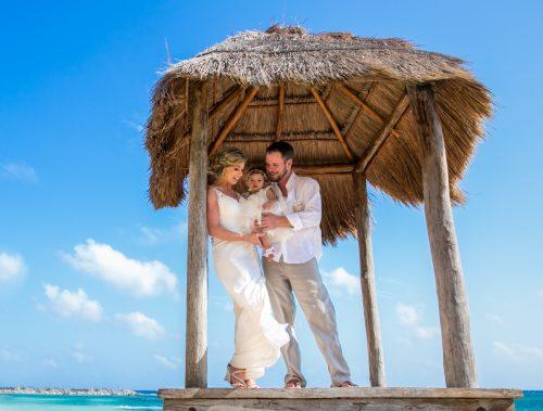 jenny bill riviera maya wedding omni puerto aventuras beach resort 02 500x379 - Jenny & Bill - Omni Hotel Puerto Aventuras