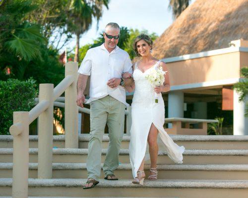 jenny bill riviera maya wedding omni puerto aventuras beach resort 02 6 500x399 - Jenny & Bill - Omni Hotel Puerto Aventuras