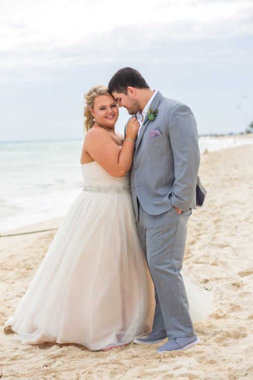 lana lee beach wedding grand sunset princess riviera maya 02 3 500x750 - Lana & Lee - Grand Sunset Princess