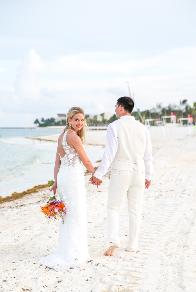 melissa chris riviera maya wedding fairmont mayakoba 01 - Melissa & Chris - Fairmont Mayakoba