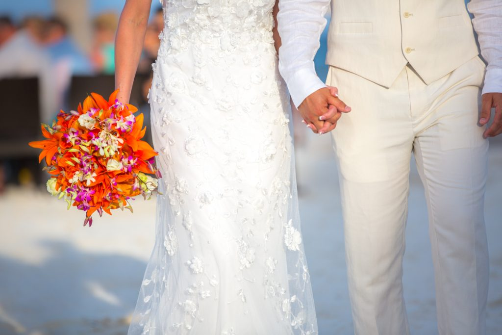 melissa chris riviera maya wedding fairmont mayakoba 02 3 1024x683 - Beach Wedding Dresses - How To Find Your Perfect Match