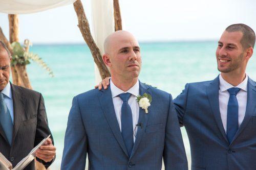 yuri adolfo playa del carmen wedding grand coral beach club 01 8 500x333 - Yuri & Adolfo - Grand Coral Beach Club
