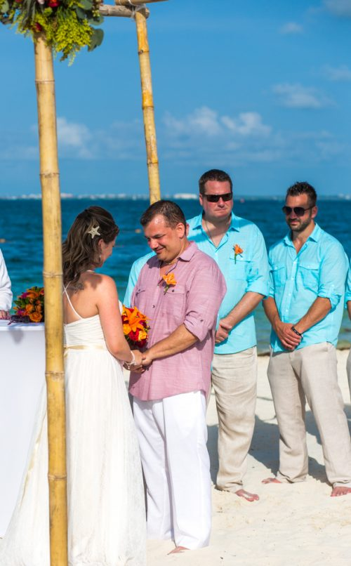 Jane Bill Finest Playa Mujeres Cancun Wedding 01 6 500x806 - Jane & Bill - Finest Playa Mujeres