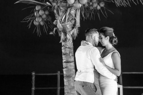 Melody Axel Mayakoba Pueblito Wedding 01 Grand Coral Beach Club Reception 2 1 500x333 - Melody & Axel - Mayakoba Pueblito & Grand Coral Beach Club