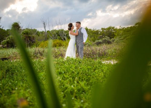 Melody Axel Mayakoba Pueblito Wedding 01 Grand Coral Beach Club Reception 4 1 500x359 - Melody & Axel - Mayakoba Pueblito & Grand Coral Beach Club