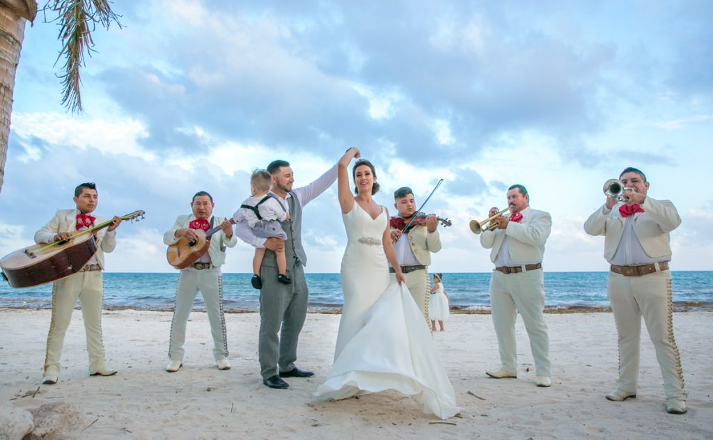 Melody Axel Mayakoba Pueblito Wedding 01 Grand Coral Beach Club Reception 6 1 1024x632 - 10 Items You Won't Regret Putting In Your Beach Wedding Emergency Kit